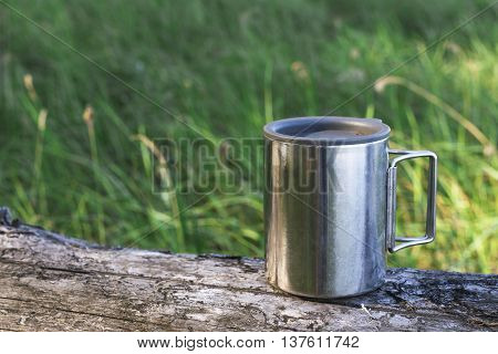 Thermos Cup Of Coffee