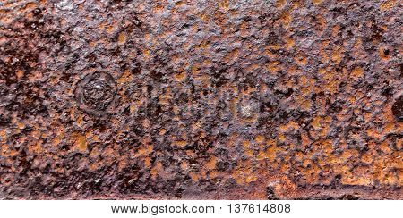Background Texture Of Rusted Steel, Grunge Rust