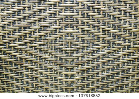 The Old woven rattan pattern for handmade in the background