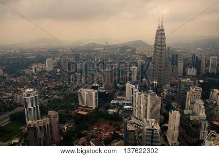 Kuala Lumpur From Tv Tower