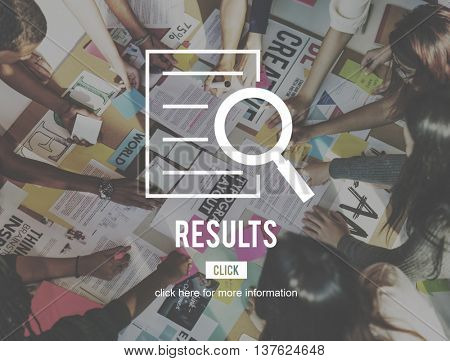 Results Research Investigation Discovery Concept