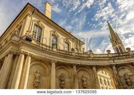 View of Saint Epvre basilica in Nancy, Lorraine, France
