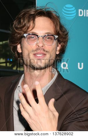 LOS ANGELES - JUL 7:  Matthew Gray Gubler at the Equals LA Premiere at the ArcLight Hollywood on July 7, 2016 in Los Angeles, CA