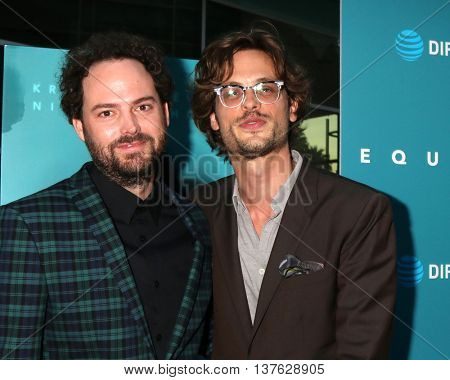 LOS ANGELES - JUL 7:  Drake Doremus, Matthew Gray Gubler at the Equals LA Premiere at the ArcLight Hollywood on July 7, 2016 in Los Angeles, CA