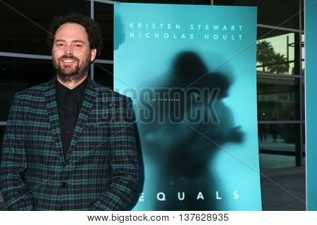 LOS ANGELES - JUL 7:  Drake Doremus at the Equals LA Premiere at the ArcLight Hollywood on July 7, 2016 in Los Angeles, CA