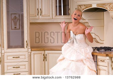 The Bride Laughs