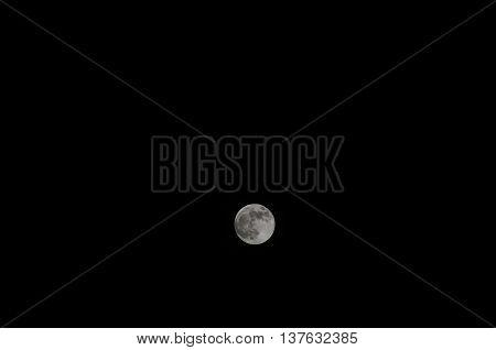 Full Moon O A Dark Sky