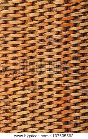 Wickered Rattan Background