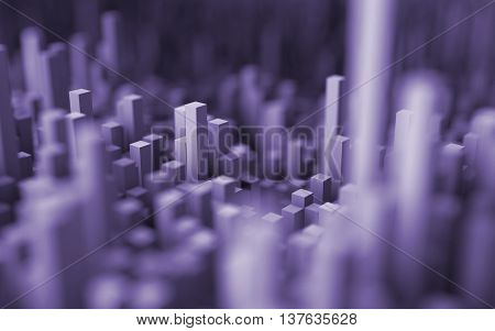 Abstract Macro City