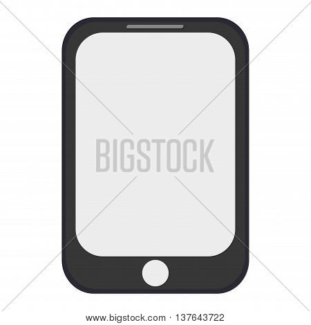 smartphone smart phone, communication icon isolated vector illustration