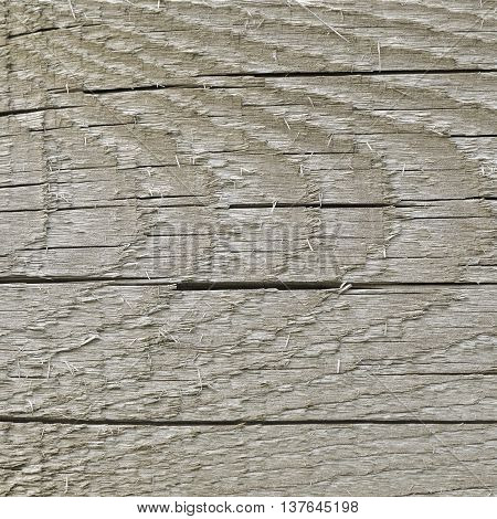 Natural Weathered Grey Tan Taupe Sepia Wooden Board Cracked Rough Cut Wood Texture Large Detailed Old Aged Gray Lumber Background Horizontal Macro Closeup Textured Crack Pattern