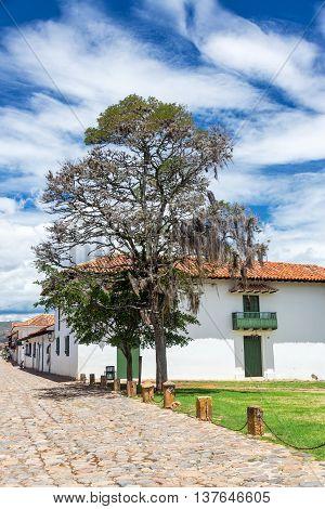 Colonial Villa De Leyva View