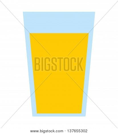 juice fruit glass  isolated icon design, vector illustration  graphic