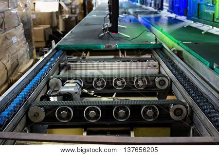 Belt Conveyor belt production line of the factory