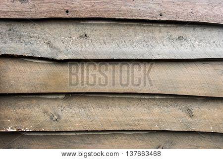 Live Edge Wooden Siding horizontal background image