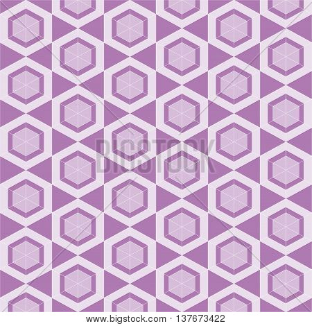 Hexagon Pattern Vector. Vector seamless pattern. Modern stylish texture. Hexagons texture. Seamless geometric pattern. Vector art. All in a single layer.