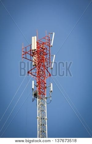 phone antenna used to transmit telephone signals