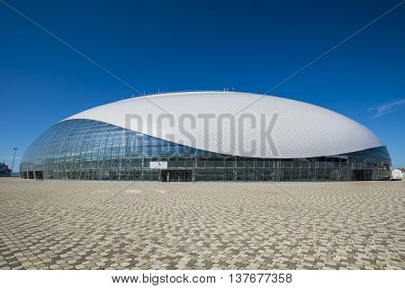 Sochi, Russia - July 6: Bolshoy Ice Dome on June 06, 2016 for World Choir Games 2016