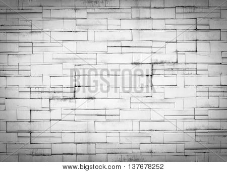 Abstract background with old brick walls flatbed