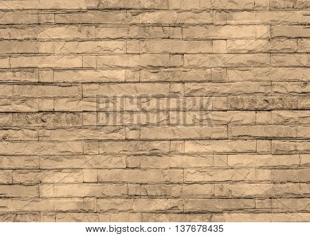 White Background With Old Brick Wall