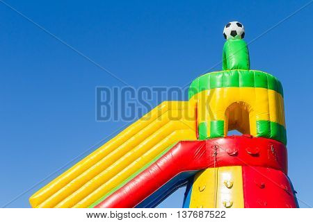 Playground Inflatable Castle