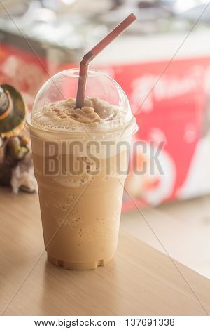 Cold Coffee.  iced; shake; ice; cream; chocolate; frappe.