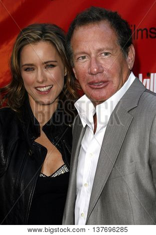 Tea Leoni and Garry Shandling at the Los Angeles premiere of 'You Kill Me' held at the Universal Citywalk in Hollywood, USA on June 10, 2007.