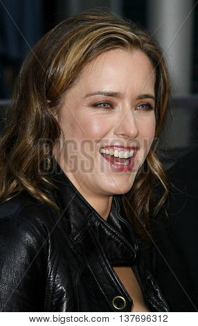 Tea Leoni at the Los Angeles premiere of 'You Kill Me' held at the Universal Citywalk in Hollywood, USA on June 10, 2007.