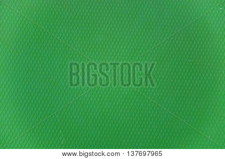 Bright colored palette of green on the background