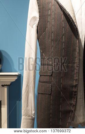Tailors Suit On Dummy