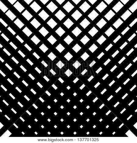 Random Grid, Mesh Pattern With Irregular, Diagonal Lines. Cellular Grating, Grill Background. Illust