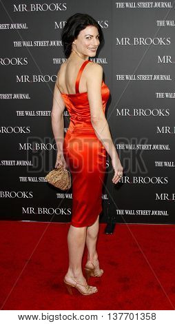 Traci Dinwiddie at the Los Angeles premiere of 'Mr. Brooks' held at the Grauman's Chinese Theater in Hollywood, USA on May 22, 2007.