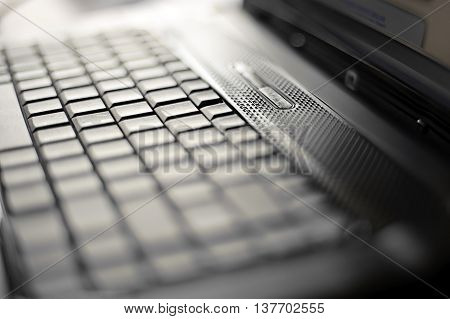 Photo Of Close-up Laptop With Shallow DOF