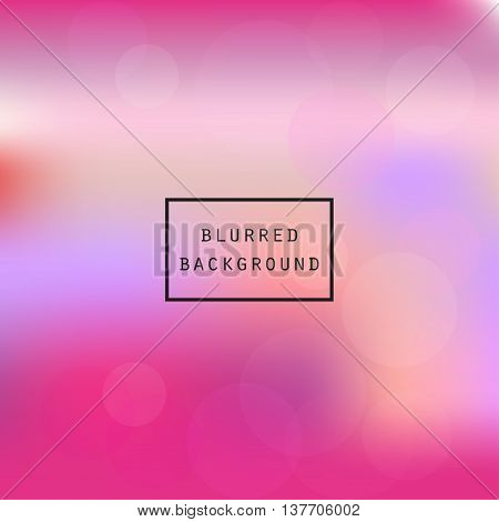 Colorful smooth gradient color Background  Vector illustration blurred pink color Background design new project design blur gradient business graphic image soft backdrop template