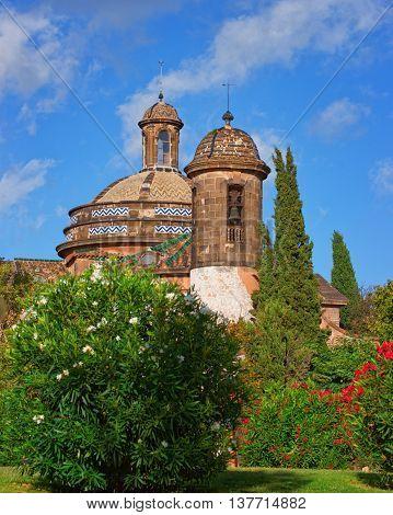 Military Parish Church In Ciutadella Park In Barcelona