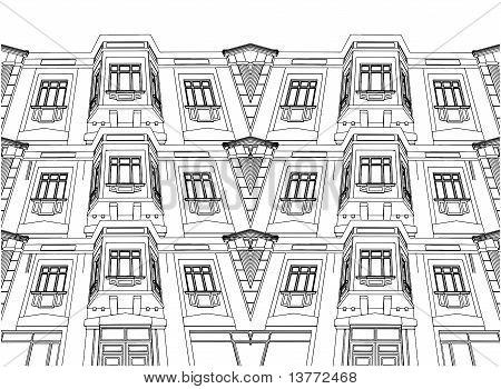Resumen edificio ecléctico Ho...