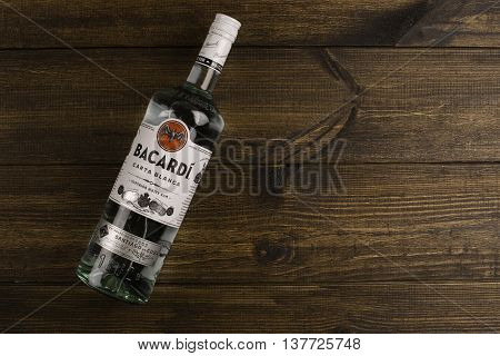 READING MOLDOVA APRIL 10. 2016 Photo of bottle of
