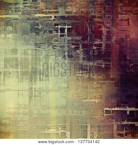 Nice looking grunge texture or abstract background. With different color patterns: yellow (beige); brown; blue; gray; red (orange); purple (violet)