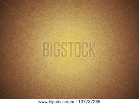 Intersection Scratch Line Brown Background Vector Illustration