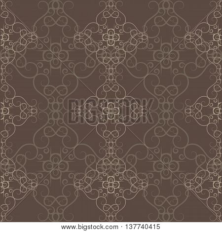 Abstract Ethnic Victorian Orient Ethnic Pattern Background