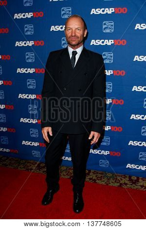 NEW YORK-NOV 17: Sting attends the ASCAP Centennial Awards at The Waldorf Astoria on November 17, 2014 in New York City.