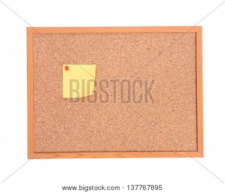 Brown Cork Pin Board Frame