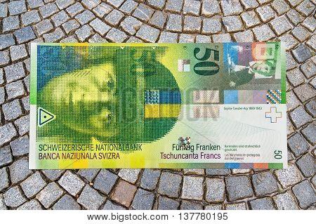 Swiss Franc Banknote