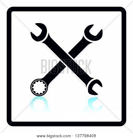 Icon Of Crossed Wrench