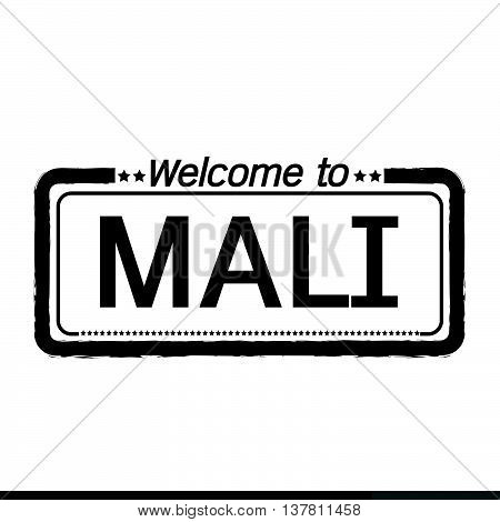 an images of Welcome to MALI illustration design
