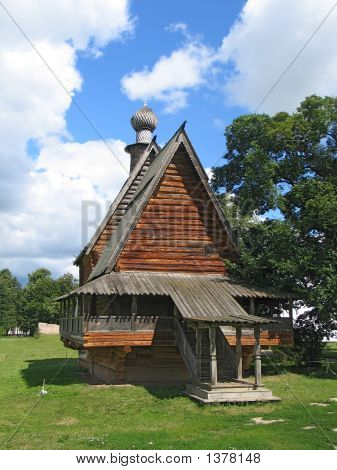 Wooden Churche Without Cross.