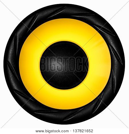 Yellow Audio Speaker