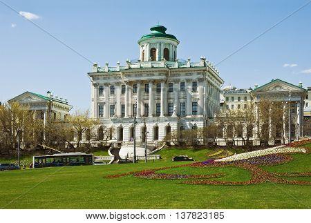 Pashkov House architect Vasily Bazhenov Russian state library Russia. Moscow