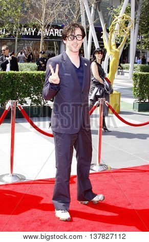 Alan Cumming at the 2008 EMMY Creative Arts Awards held at the Nokia Theater in Los Angeles, USA on September 13, 2009.