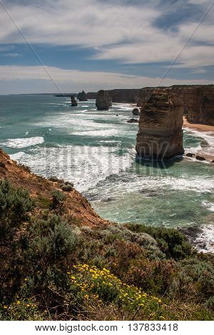 Famous Apostles on the Great Ocean Road